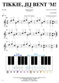 Gratis bladmuziek voor piano, keyboard en hammond